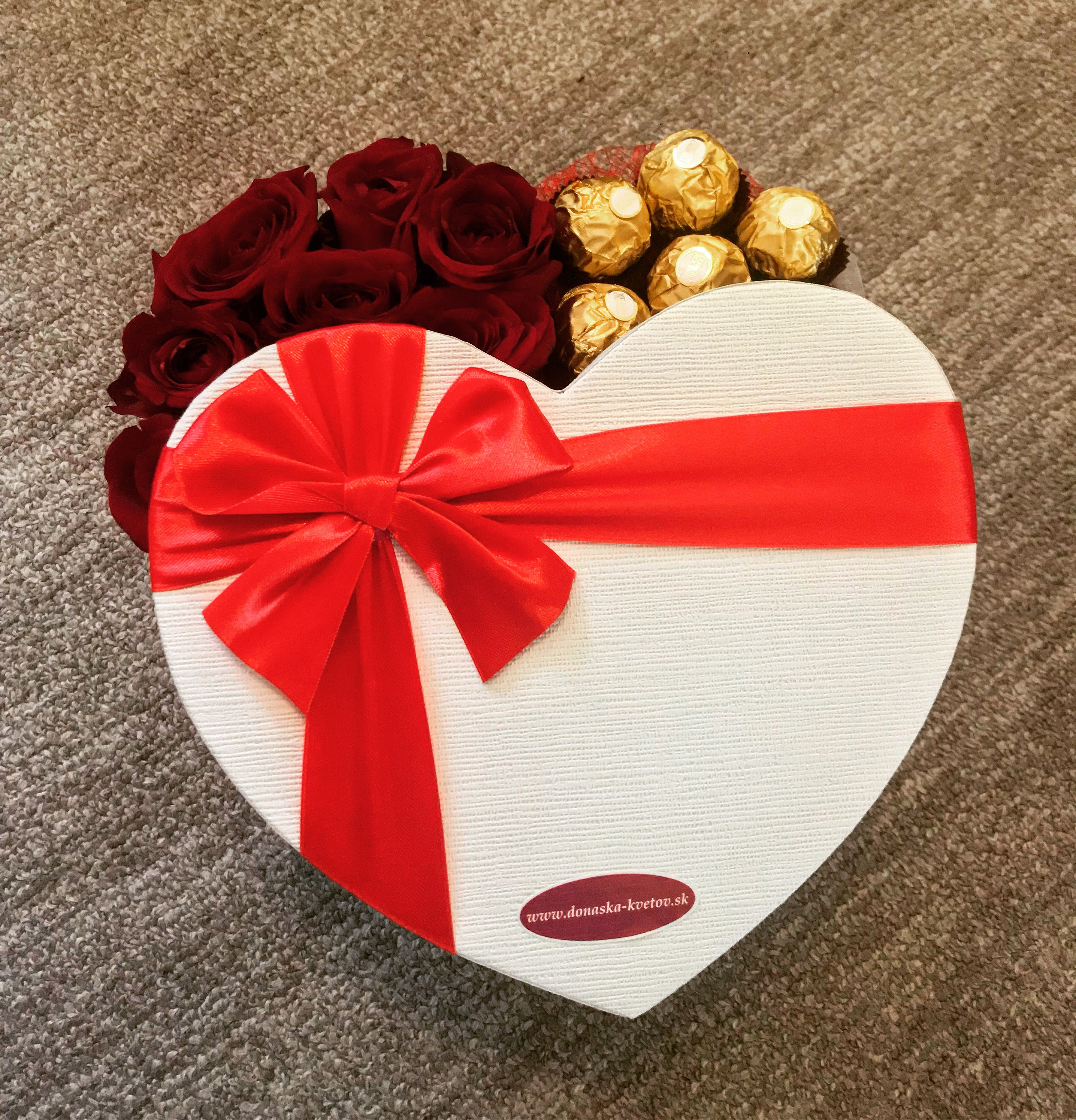 Flower box - Ferrero Rocher 2